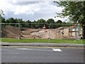 SK5636 : Becket School site redevelopment  by Alan Murray-Rust