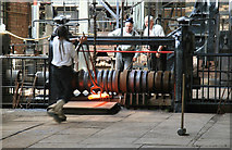 SJ6903 : Blists Hill Victorian Town - at the rolling mill by Chris Allen