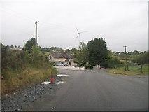 H6007 : Minor cross roads near Comasaus School, Co Cavan by Eric Jones