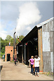SJ6903 : Blists Hill Victorian Town - exhausting by Chris Allen