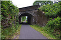NN0359 : Old railway bridge, South Ballachulish by Ian Taylor