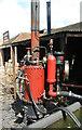 SJ6903 : Blists Hill Victorian Town - steam pump by Chris Allen