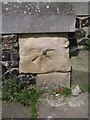 TR1457 : Cut bench mark with bolt on St Margaret's church by Brian Westlake