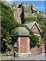 TQ8209 : East Hill Lift, Hastings by pam fray