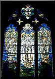 TR1458 : East window of the church of St. Dunstan, Canterbury by pam fray