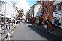 SO8455 : Angel Street, Worcester by Philip Halling
