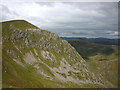 NH1313 : The east ridge of Sgurr nan Conbhairean by Karl and Ali