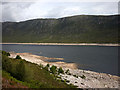NH1409 : The north shore of Loch Cluanie by Karl and Ali