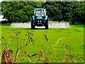 H5359 : Crop-spraying, Tamlaght by Kenneth  Allen