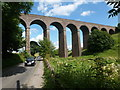 SK0672 : Railway viaduct by Graham Hogg