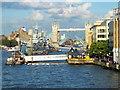 TQ3380 : Tower Bridge Rising by PAUL FARMER