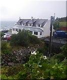 NG7977 : Coastal scene along Loch Gairloch by C Michael Hogan