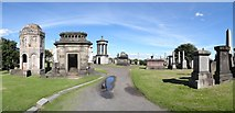 NS6065 : Glasgow Necropolis by Ian Paterson