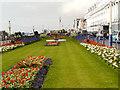 TV6198 : Floral Gardens, Eastbourne Grand Parade by David Dixon