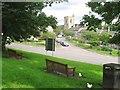 NU0501 : Church Street and All Saints Church, Rothbury, Northumberland by Derek Voller