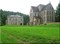 NZ1198 : Brinkburn Priory and Manor House, Northumberland by Derek Voller