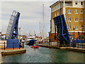 TQ6401 : Lifting Bridge, Sovereign Harbour by David Dixon