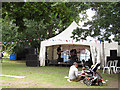 TQ3978 : Main stage at the community festival by Stephen Craven
