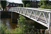 NT5015 : Footbridge in Mansfield Road, Hawick by Jim Barton