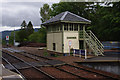 NM8980 : Glenfinnan signal box by Ian Taylor