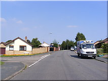 TM3877 : Dukes Drive, Halesworth by Adrian Cable