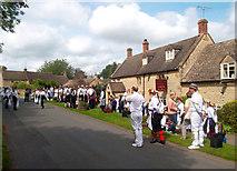 SP2225 : Morris Dancers in Upper Oddington by Des Blenkinsopp