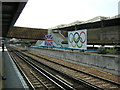 TQ3380 : London Bridge station, during the Olympics by Christopher Hilton