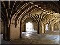 TQ3181 : Chapel undercroft, Lincoln's Inn by Patrick Mackie