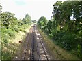 SU4510 : Sholing, railway lines by Mike Faherty