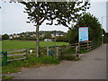SY4692 : Footpath off Sea Road South, Bridport by Anthony Vosper