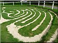 SK8902 : The eastern side of Wing Maze by Christine Johnstone