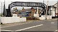 C7735 : Footbridge, Castlerock station (1) by Albert Bridge