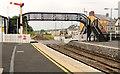 C7735 : Footbridge, Castlerock station (2) by Albert Bridge