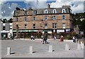 NT4936 : The refurbished Market Square in Galashiels by Walter Baxter