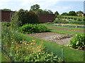 TL8160 : Vegetable garden at Ickworth House by Richard Humphrey