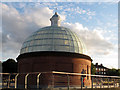 TQ3877 : Foot tunnel south dome, restored by Stephen Craven
