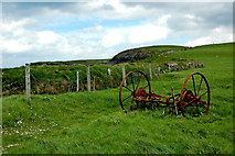 R0392 : Cliffs of Moher - Path Along Cliffs to Doolin and Field for Grazing Cattle by Joseph Mischyshyn