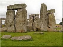 SU1242 : Stones of Stonehenge by David Dixon