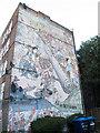 TQ3877 : El Salvador mural by Stephen Craven