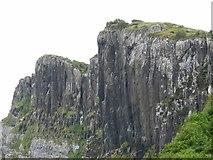 NG5164 : Cliffs along the Sound of Raasay by C Michael Hogan