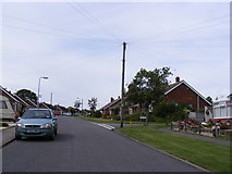 TM3876 : Dukes Drive, Halesworth by Adrian Cable