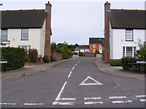 TM3877 : Newby Close, Halesworth by Adrian Cable