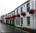 SN4020 : Hanging baskets, Water Street, Carmarthen by Jaggery