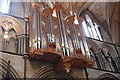 SO8554 : The Organ (south side), Worcester Cathedral by Julian P Guffogg