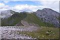 NN1465 : Stob Ban west ridge by Ian Taylor