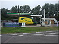 TL3349 : Service station on the A1198 by JThomas