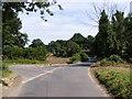 TM4174 : Thorington Road at Thorington Corner by Adrian Cable