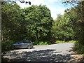 NS3083 : Car park near the Hill House by Lairich Rig