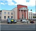SN5881 : Aberystwyth Public Library by Jaggery