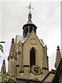 TQ3379 : St Mary Magdalen, Bermondsey :  clock by Stephen Craven